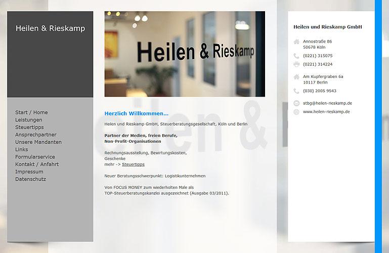 Webdesign-Referenz-Heilen-Rieskamp-1