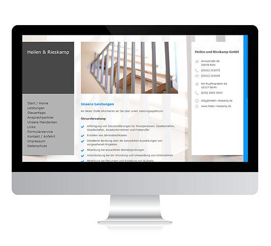 Webdesign-Referenz-Heilen-Rieskamp-2